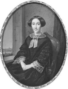 Portret van Elisabeth Anna Petronella van Sypesteyn (1819-1904)