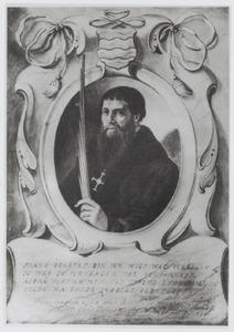 Portret van Frans Bogaart (1502-....) als Jeruzalemvaarder