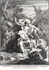 Allegorie met Apollo en de dichtkunst