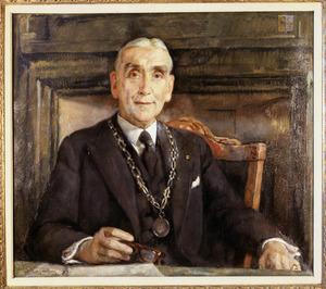 Portret van Anthony Engelbert Hannema (1887-1972)