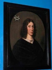 Portret van Jacob van Borssele van der Hooghe (1622-1686)