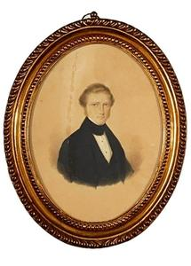 Portret van Willem Adriaan Snouck Hurgronje (1814-1841)