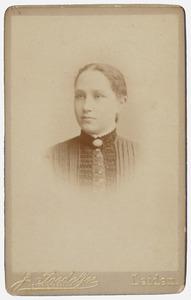 Portret van Johanna Lodewika Tasseron (1872-1954)