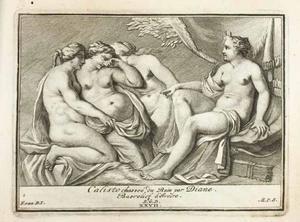 Diana ontdekt de zwangerschap van Callisto (pl. XXVII)