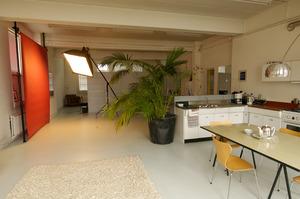Studio van Michiel van Nieuwkerk