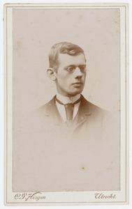 Portret van dhr. J. de Visser