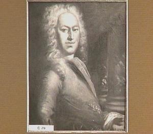 Portret van Johan van den Brandeler (1676-1751)