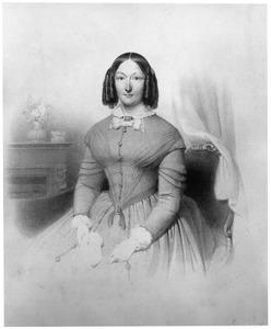 Portret van Anna Agnesia Schimmelpenninck (1813-1869)