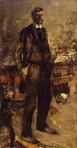 Zelfportret van George Hendrik Breitner (1857-1923)