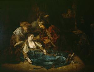 De dood van Lucretia (?)