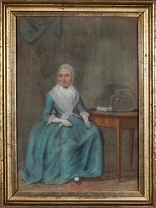 Portret van een vrouw, waarschijnlijk Jenneken Otten (?-1807)