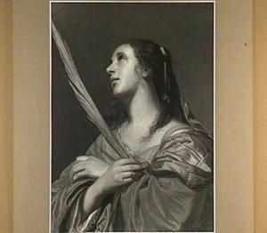 Een vrouwelijke heilige