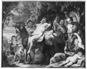 De dronken Silenus en zijn gevolg