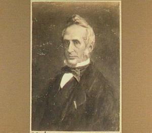 Portret van Willem Moll (1812-1879), hoogleraar in de theologie en de kerkgeschiedenis
