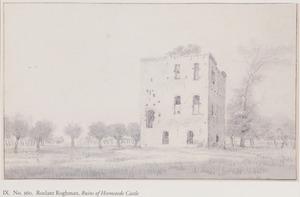 De ruïne van kasteel Heemstede