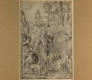 Simson laat de vossen los in de korenvelden van de Filistijnen (Richteren 15:4-5)
