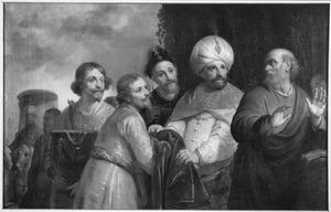 Elisa wijst de geschenken van Naäman af (2 Koningen 5)