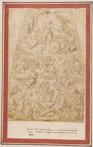 Christelijke allegorie, met het laatste oordeel