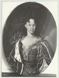 Portret van Elisabeth Juliana Franziska van Hessen-Homburg (1681-1707)