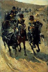 De Gele Rijders of de rijdende artillerie