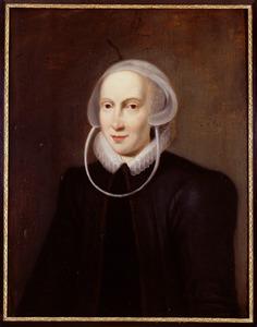 Portret van een persoon genaamd Maria van de Velde ( -1654)