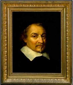 Portret van Joost van den Vondel  (1584-1679)