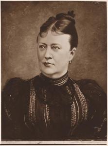 Portret van Tjallinga Aurelia Wilhelmina Camstra van Andringa de Kempenaer (1838-1908)