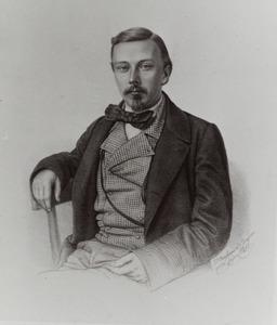 Portret van Eelco Verwijs (1830-1880)