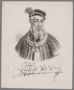 Portret van Maerten van Rossum (1478-1555)
