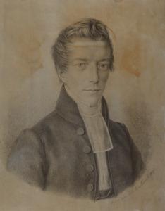 Portret van Joachim Willem Suringar (1810-1892)