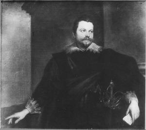 Portret van Enrico Concini, graaf de Peña (?-?)