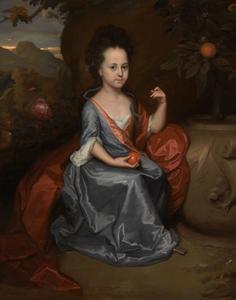 Portret van een meisje, zogenaamd Anne Conslade