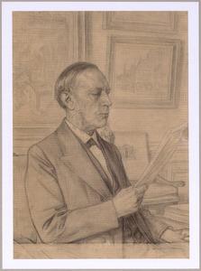 Portret van Sjoerd Anne Vening Meinesz. (1833-1909)