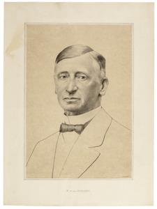 Portret van Pieter Willem van Rossem (1857-1924)