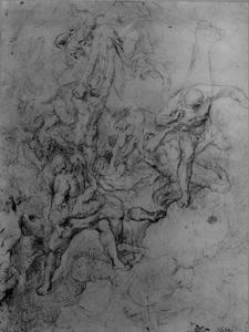 Studie van engelen en de aartsengel Michael