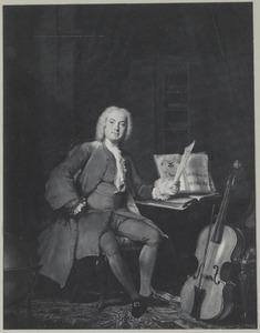 Portret van een man, mogelijk Johannes van der Mersch (1707-1773)