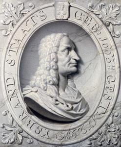 Portret van Ysbrand Staats (1665-1729)