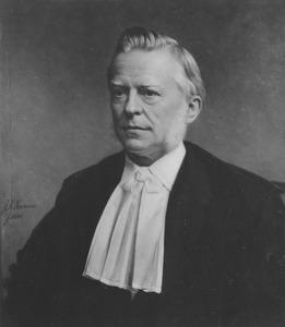 Portret van Jacobus Anthonie Fruin (1829-1884)