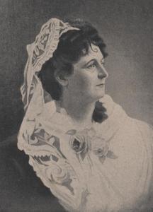 Portret van Sophie de Vries (1839-1892)