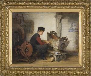 De Hindelooper schildersjongen
