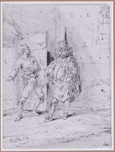 De portier en de Spaanse edelman (Suenos 1641, boek III, zesde droom)