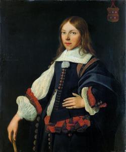 Portret van Jacob Johanszoon Gael (1642-1686)