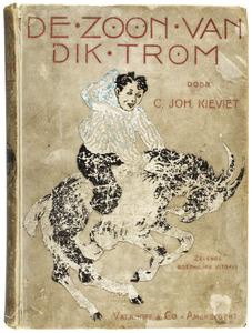 De zoon van Dik Trom - boekomslag en illustraties voor de gelijknamige uitgave door C.Joh. Kievit