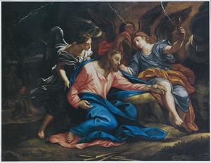Christus in de Hof der Olijven te Getsemane