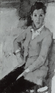 Portret van Nellie Gesina Stapel (1940- )