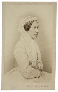 Portret van Louise Auguste Wilhelmina Amalia van Pruisen (1808-1870)