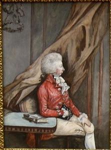 Portret van Epke Roos van Bienema (1767-1810)