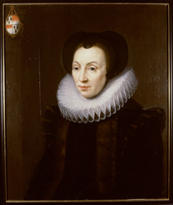 Portret van een vrouw, mogelijk Elisabeth van de Velde Van Ulft (?-?)
