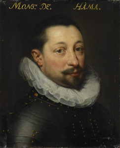 Portret van Charles de Levin ( -1592)
