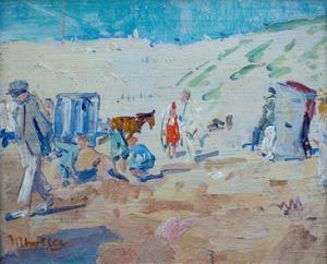 Zandvoort - strandscène